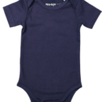 Baby body short sleeves Navy