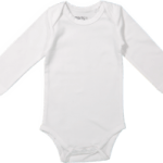 Baby body long sleeves White