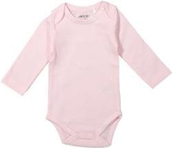 Baby body long sleeves Light Pink