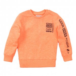 Sweater Jongen – Cool Dude – Neon Coral – Dirkje