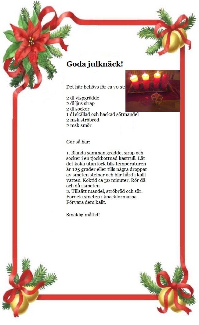 hemlagad senap Julrim och julklappsrim för din julklapp