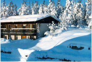Min kompis Anders hus, som låg mittemot vårat.