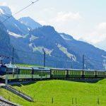 GoldenPass Belle Epoque train near Gstaad