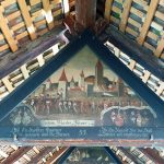 painting on chapel bridge