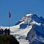 spectacular viewpoint on Maennlichen