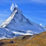 Matterhorn in autumn colours
