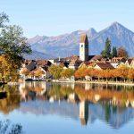 Unterseen/Interlaken in autumn