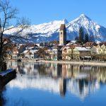 Unterseen/Interlaken in winter