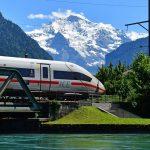 ICE4 train in Interlaken