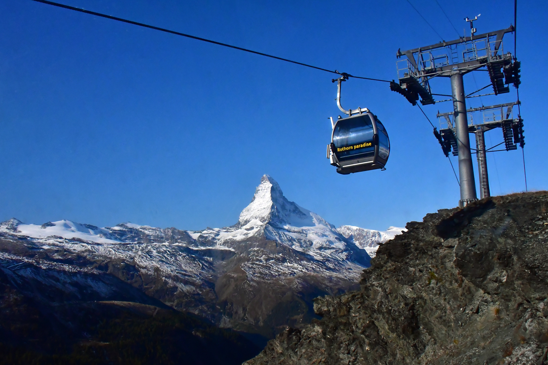 The Rothorn Gondola and Matterhorn