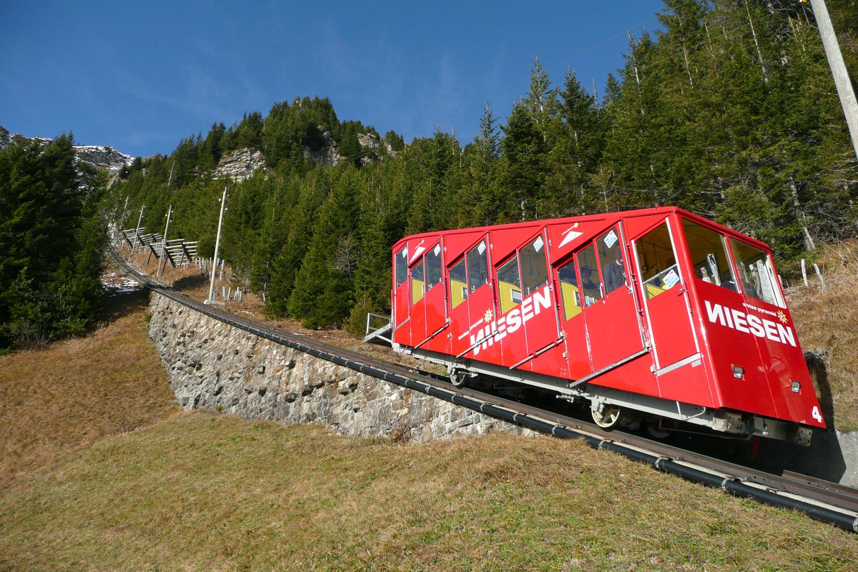 The Niesen funicular railway