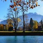 River Aare in Interlaken