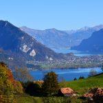 Interlaken between the lakes