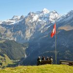 High above Kandersteg at the Allmenalp one can enjoy the view
