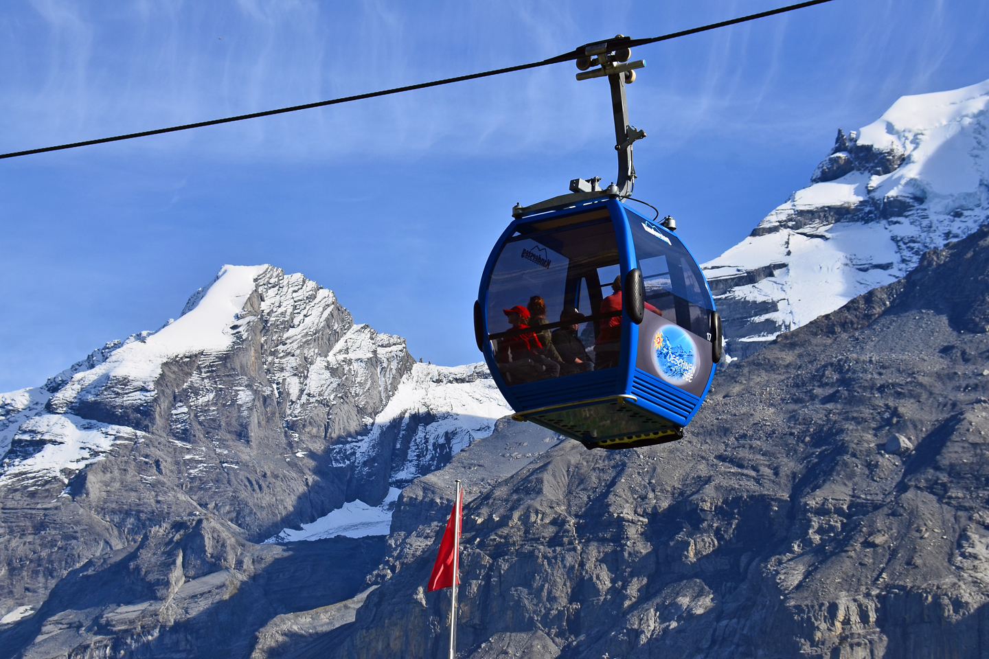 The Oeschinesee gondola