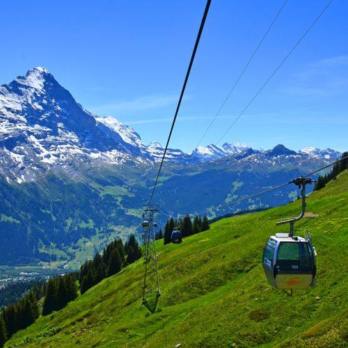 Grindelwald First gondola