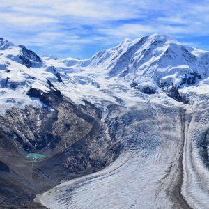 Monte Rosa seen from Gornergrat