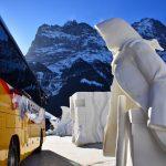 ice sculptors in Grindelwald