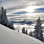 winter in Gstaad area