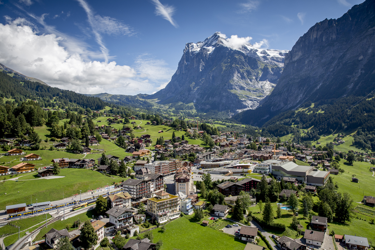 Grindelwald and the Wetterhorn