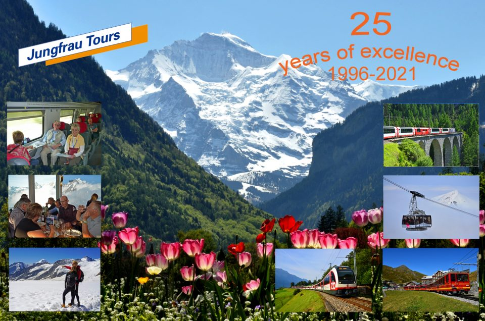 Jungfrau Tours 25 years of excellence