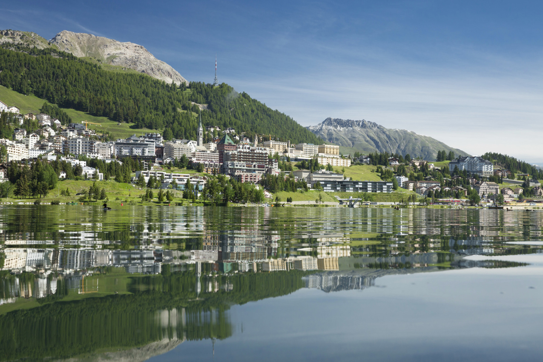 St. Moritz village