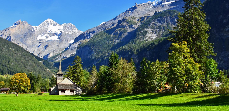 chapel in Kandersteg
