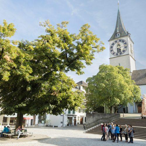 St. Peter church Zurich