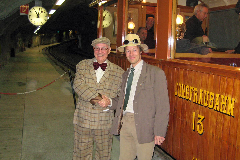 2 CEO's at the Jungfrau Railway