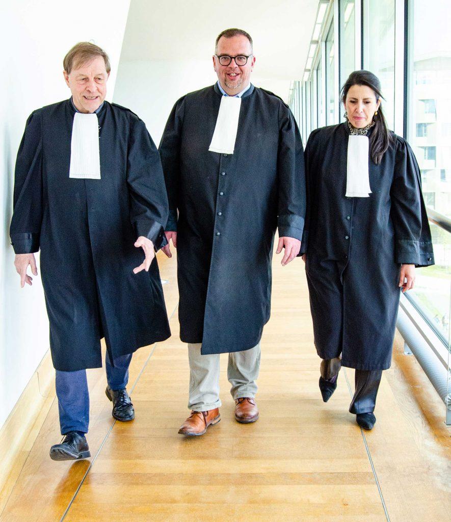 Raf Jan en Zohra in het Antwerps justitiepaleis