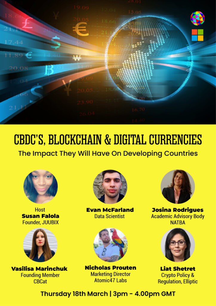 CBDC'S Blockchain & Digital Currencies