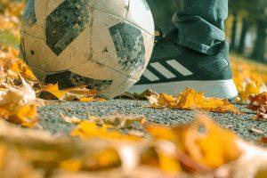 voetbal herfst