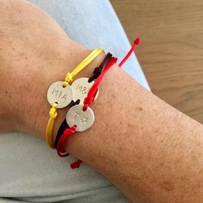 Gepersonaliseerd armbandje