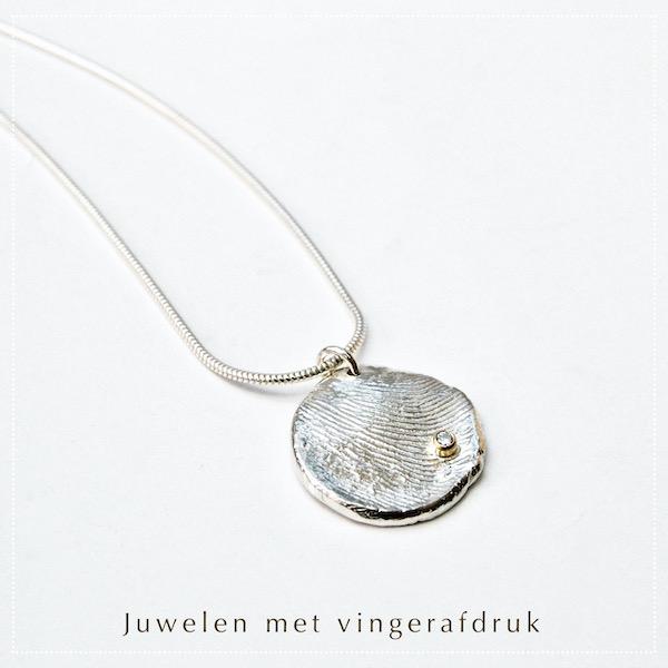 Juwelen met vingerafdruk