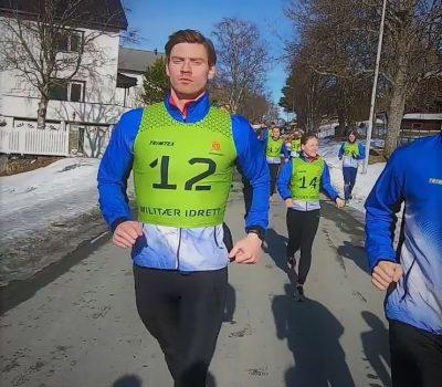 Løpegruppen - illustrasjonbilde på siden