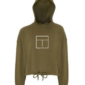 Padel Cropped hoodie