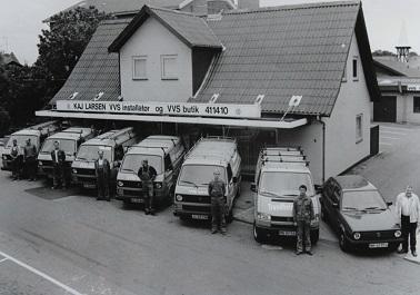 Det første værksted åbnede i Strårup i 1966. Det andet på Savværksvej åbnede i 1991.