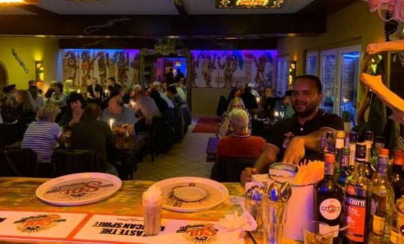dinner at kaktus