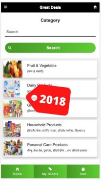 online grocery business