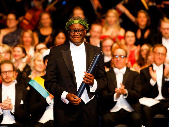 Le Docteur Denis Mukwege en visite en Suède à Goteborg