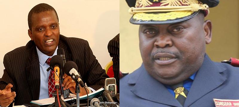 RD Congo : alors qu´Azarias RUBERWA a bel et bien été frappé, le général Sylvano KASONGO s´évertue pourtant à en faire un faux démenti.