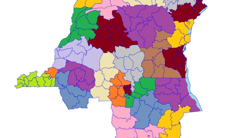 Liste des ethnies et tribus de la RDC