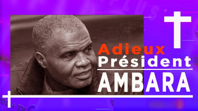 la Communauté congolaise de Suède est sous le coup du choc. Adieu Président AMBARA!