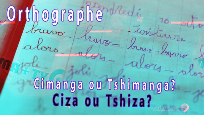 La mauvaise orthographe  menace          l´identité congolaise d´origine.