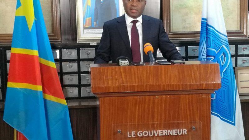 RDC : SOCIETE: LE GOUVERNEUR DE LA BANQUE CENTRALE DU CONGO ARRETE