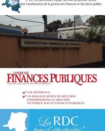 RDC/SOCIETE: FOND COVID-19: l'IGF INTERPELLE LES GESTIONNAIRES
