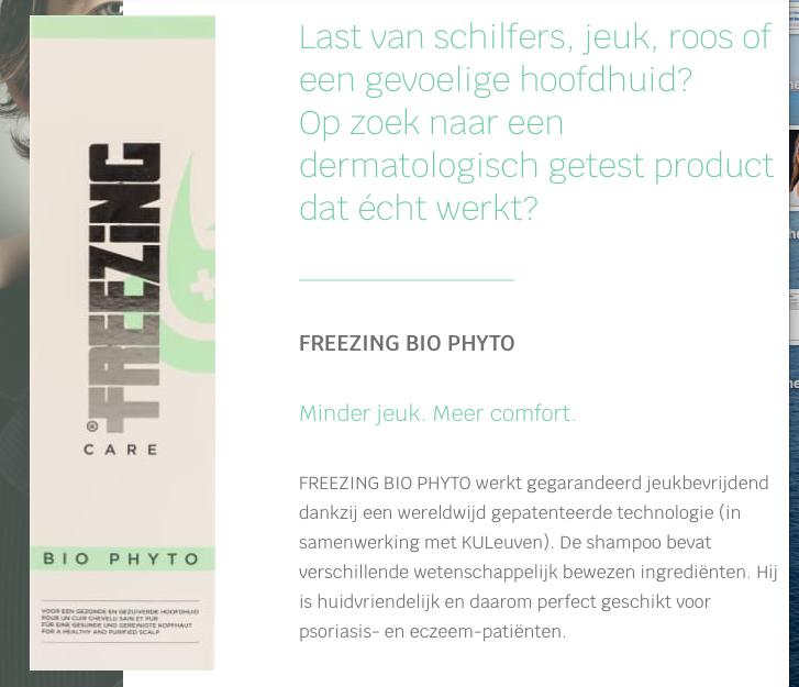 Jou Freezing Product Aan Huis Geleverd.