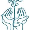 KarenForEver – logo blue 100 procent