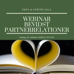 Webinar – 6. Bevidste Partnerrelationer  30. okt 2020