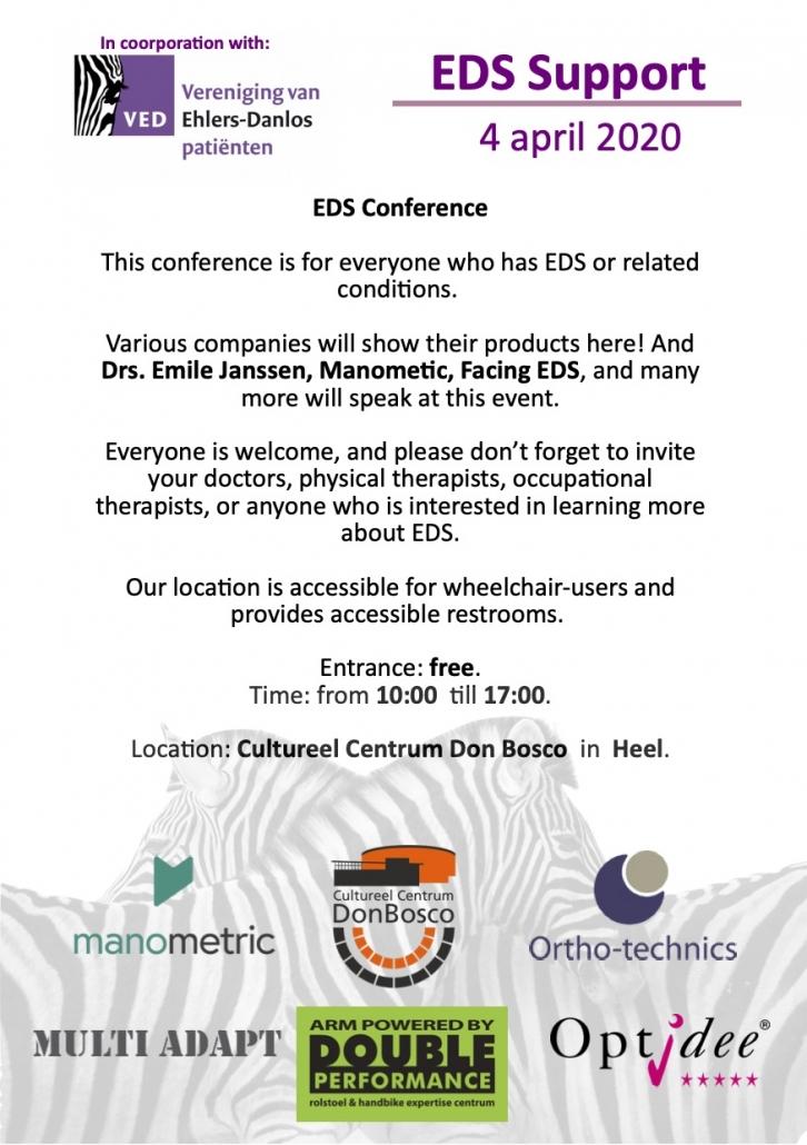 English Event Flyer